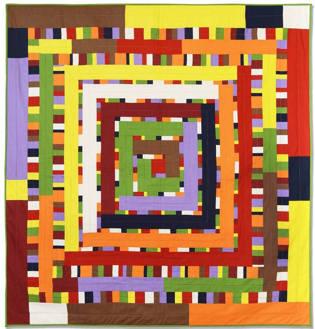 String Of Lights Quilt Pattern : Quilt Inspiration: Free pattern day: Easy Modern Quilts (2)