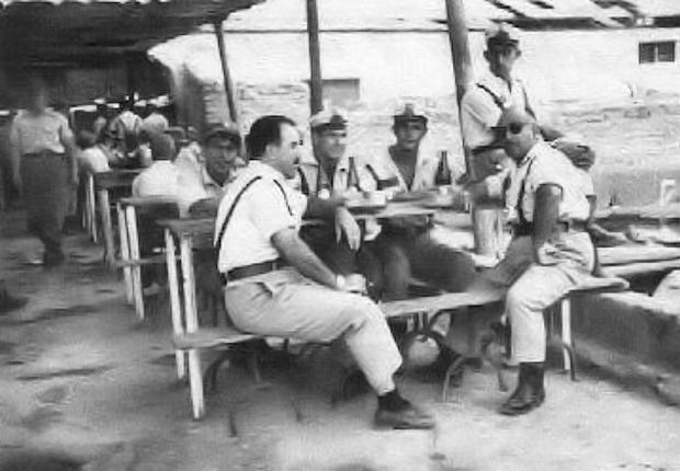 Cantina del Grupo de Policía. Año 1960 semejante a la de 1961