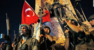 Militer Turki Kudeta Presiden Recep Tayyip Erdogan