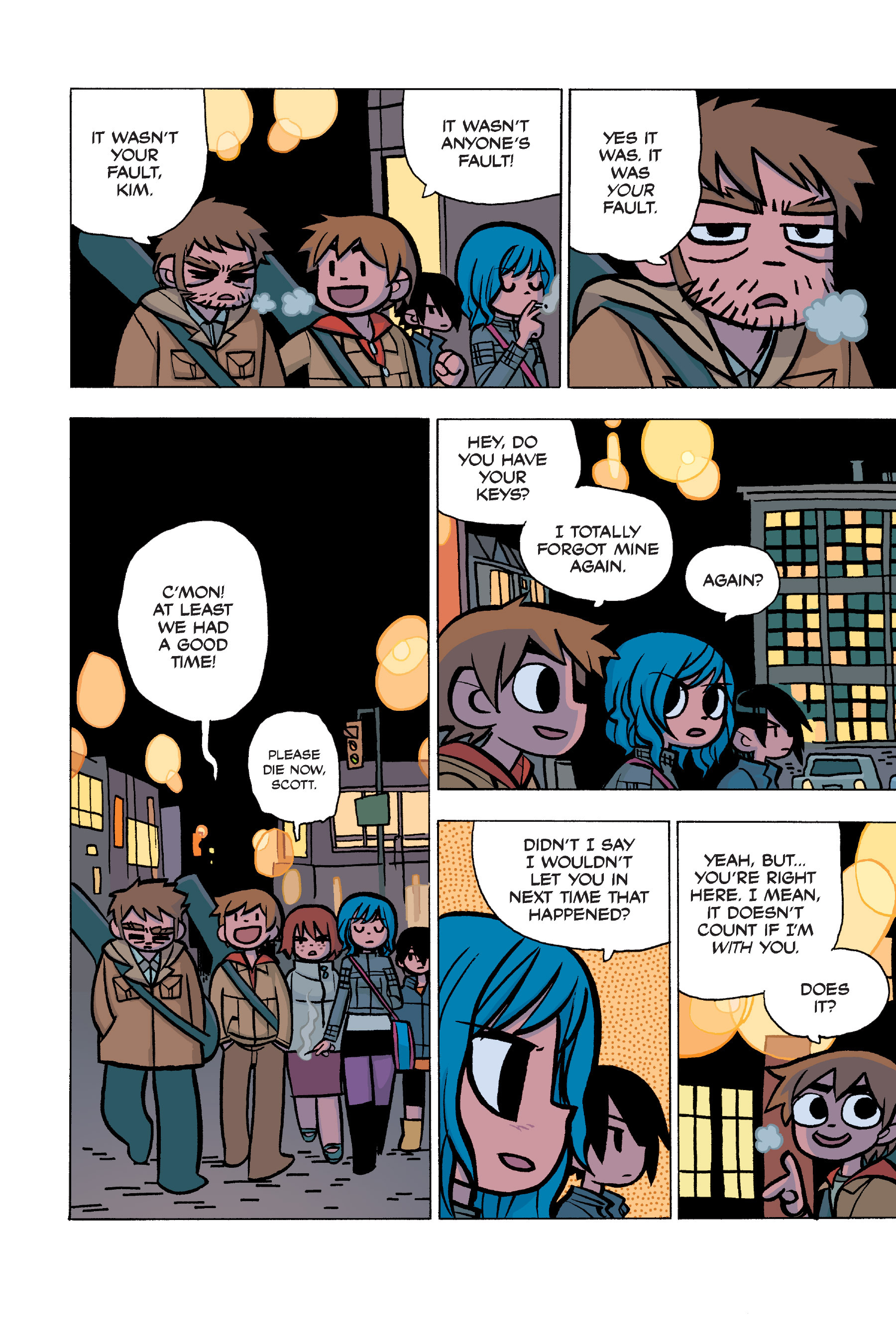 Read online Scott Pilgrim comic -  Issue #5 - 59
