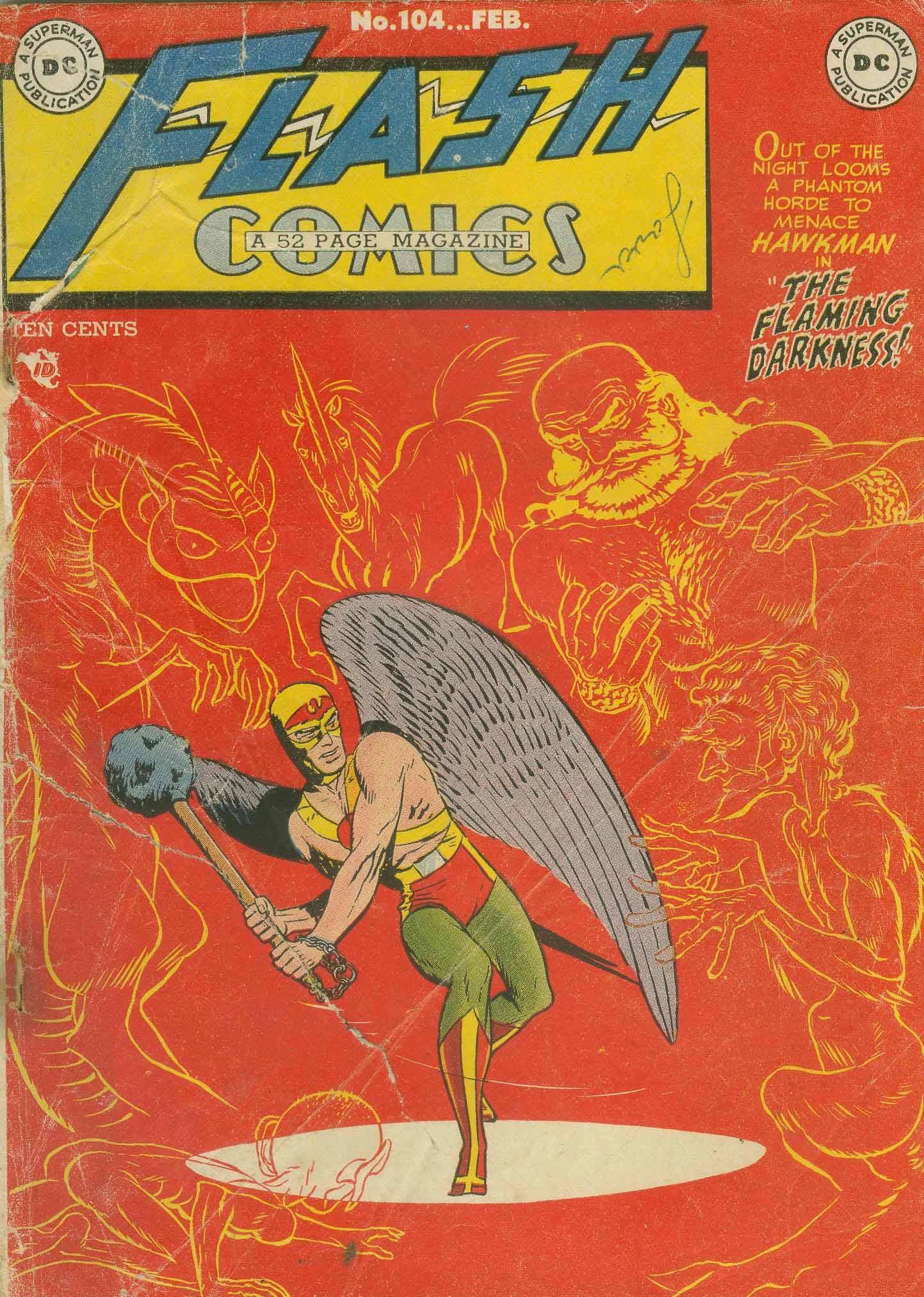 Flash Comics 104 Page 1