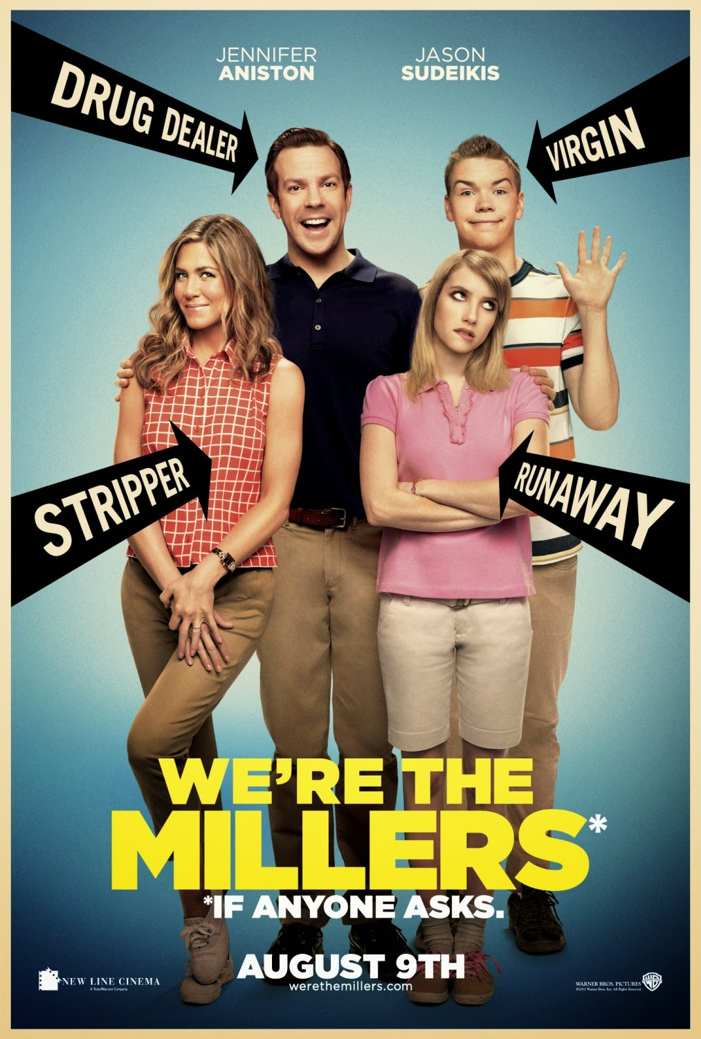 We're the Millers (2013) ταινιες online seires oipeirates greek subs