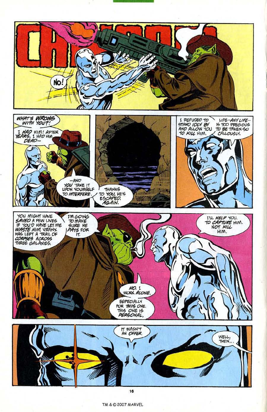 Read online Silver Surfer (1987) comic -  Issue #89 - 18