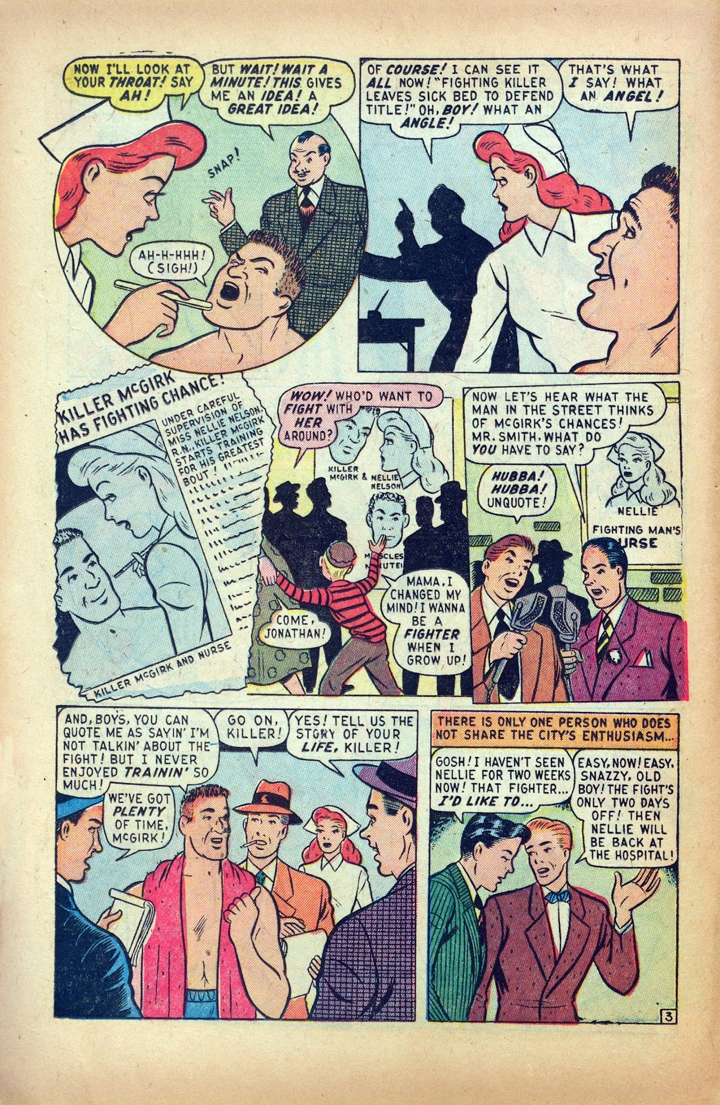 Read online Nellie The Nurse (1945) comic -  Issue #24 - 12