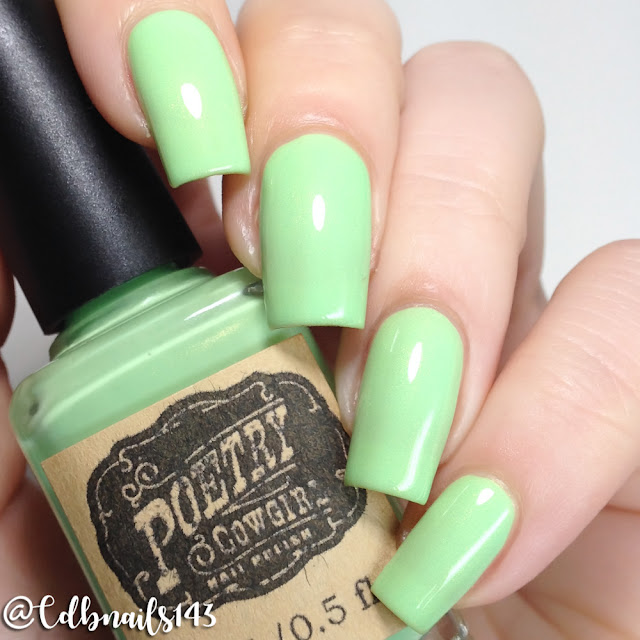 Poetry Cowgirl Nail Polish-Cucumber Jalapeno Martini