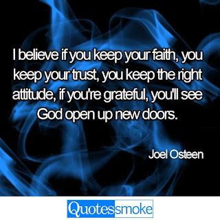 Joel Osteen positive quote