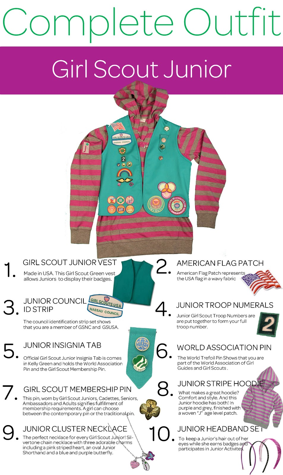 Girl Scout Cookie Nail Art: Girl Scouts Of Nassau County: The Complete Outfit Series