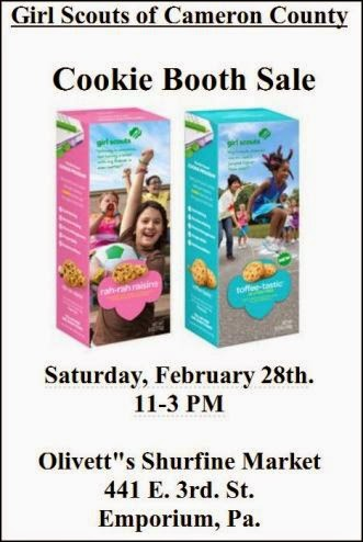 2-28 Cookie Booth Sale