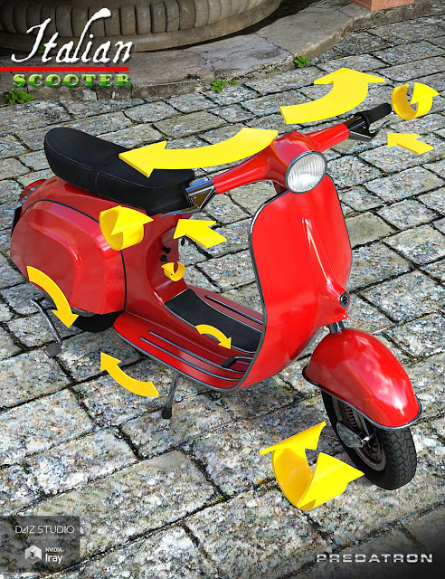 Italian Scooter Bundle