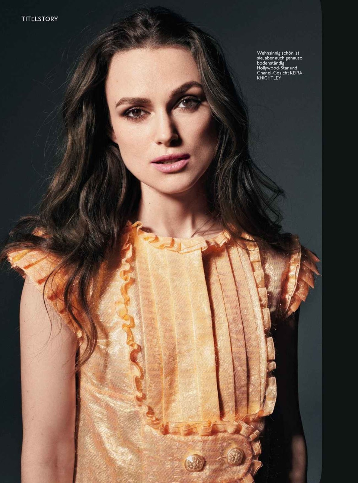 Keira Knightley InStyle Germany May 2018