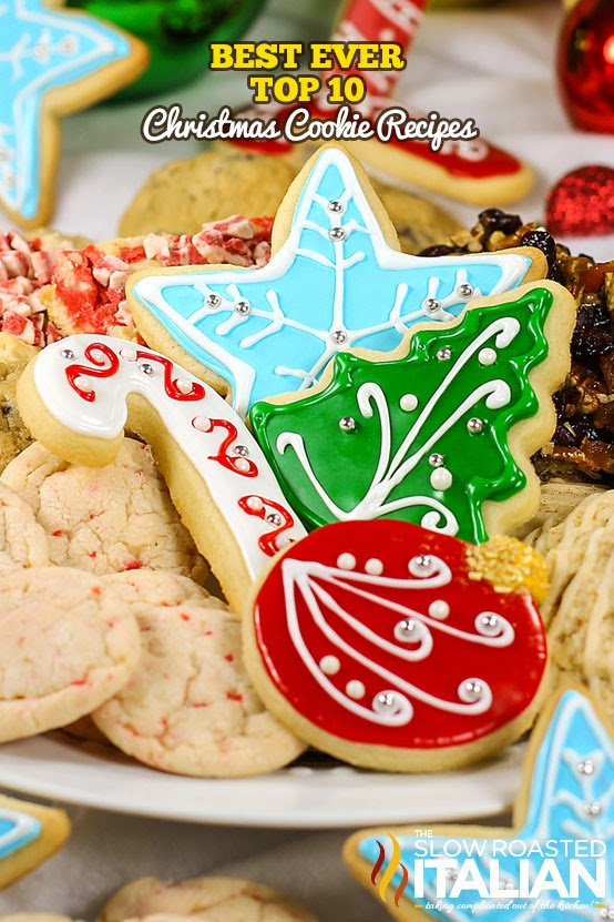 best ever top 10 christmas cookie recipes - Best Christmas Cookies Recipes