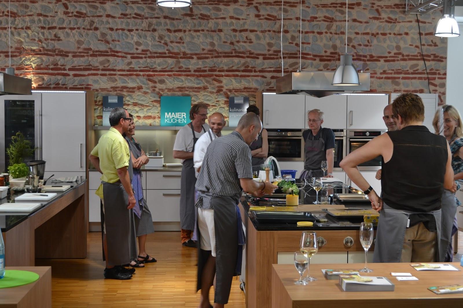 Merkles Blog: Kochkurs in Maier´s Küchenstudio in Bahlingen