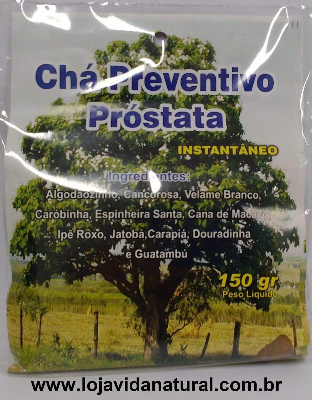 Chá Solúvel Preventivo Próstata 150g