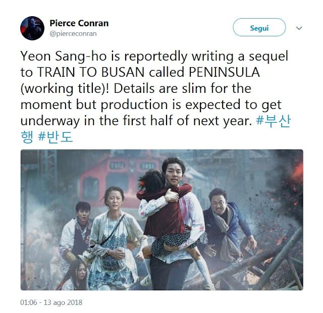 Il tweet del producer Pierce Conran