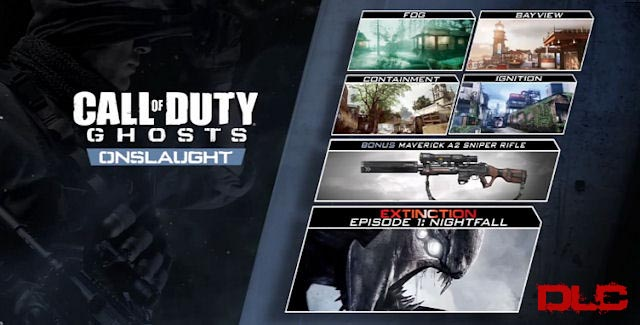Call Of Duty Ghosts Onslaught DLC Xbox 360 Expansión
