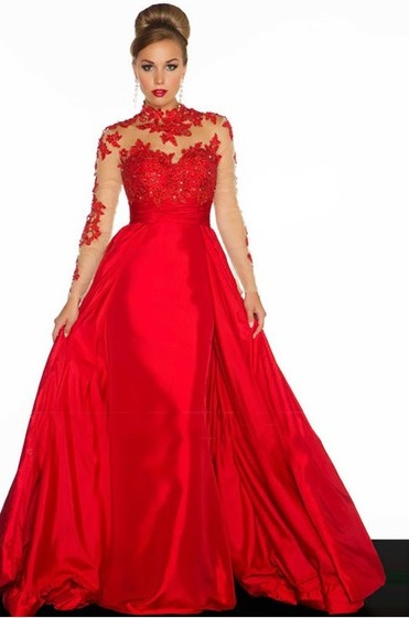 http://www.dressfashion.co.uk/product/ball-gown-red-taffeta-appliques-lace-long-sleeve-high-neck-prom-dress-02014571-7302.html?utm_source=minipost&utm_medium=1174&utm_campaign=blog