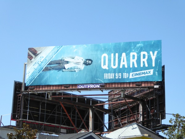 Quarry series launch billboard