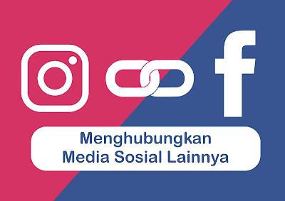 menghubungkan akun instagram anda dengan facebook