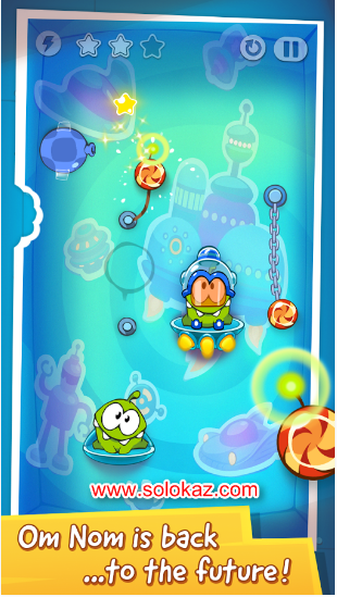 Cut the Rope Time Travel HD Pro v 1.4.9 Mod Apk Terbaru