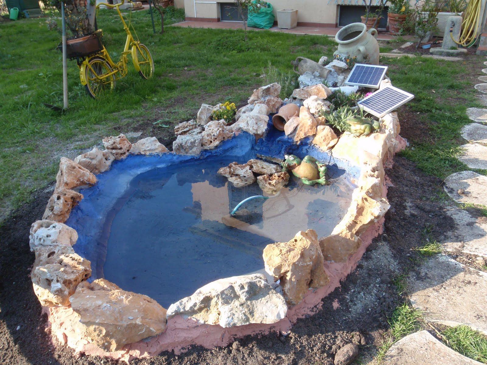 Le ceramiche di marta una storia di correttezza for Laghetti e cascate da giardino