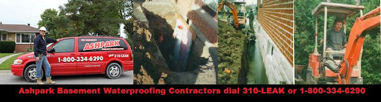 Clarington Wet Leaky Basement Waterproofing Contractors Clarington in Clarington 1-800-NO-LEAKS