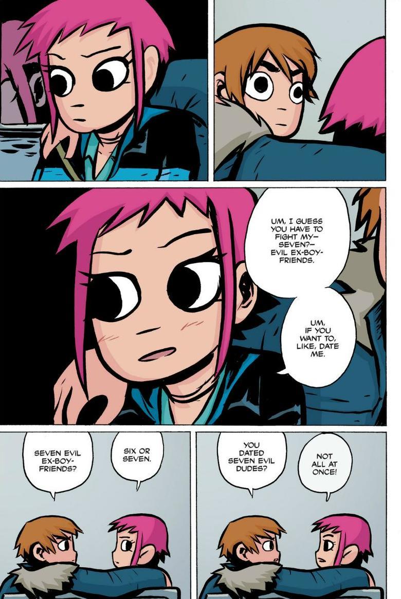 Read online Scott Pilgrim comic -  Issue #1 - 146