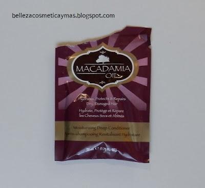 Mascarilla para el Cabello de Aceite de Macadamia Hask