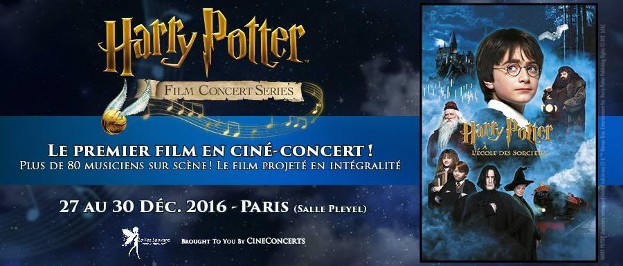 Harry Potter à l'Ecole des Sorciers en ciné-concert à Paris