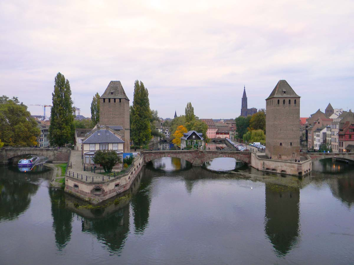 Barrage Vauban, Strasbourg en automne