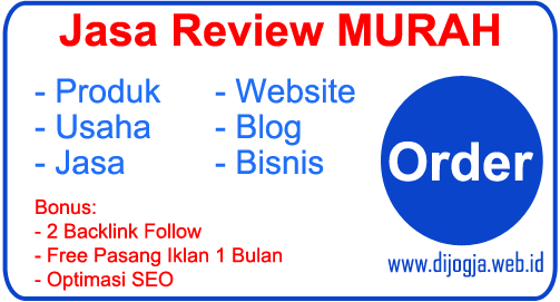Jasa Review Murah - Jasa Review Produk Website Murah