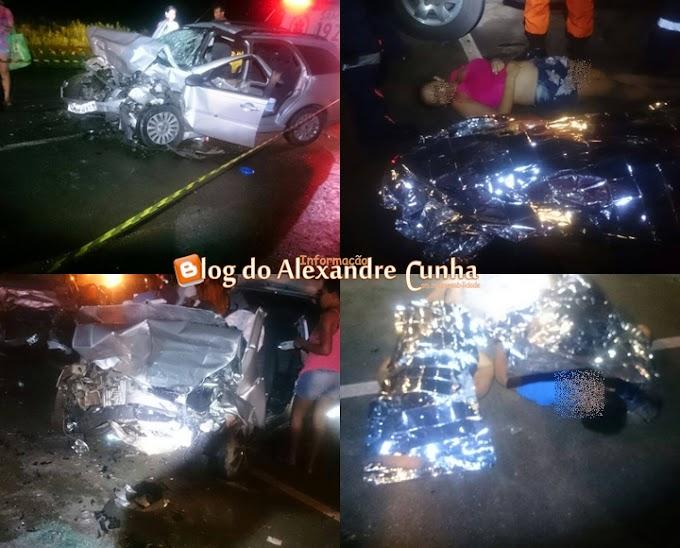 Trágico acidente em Campo de Perizes, na BR 135, deixa mortos e feridos