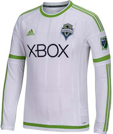 huge selection of 9bba8 5e81c Seattle Sounders 2015 Home and Away Jerseys Released ...