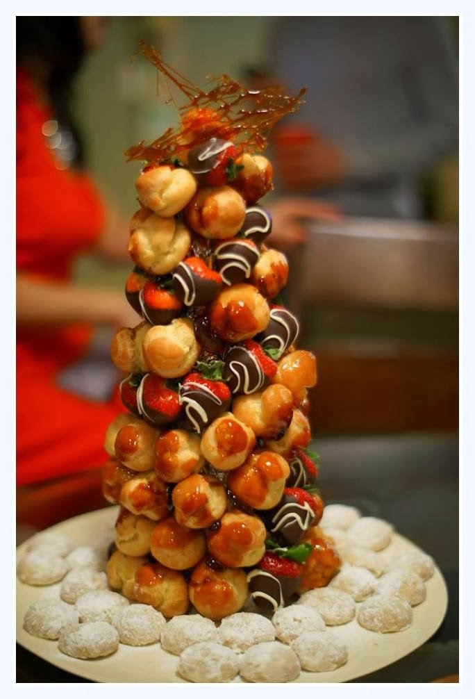 """A """"T"""" Spoon of Sugar: Cream Puffs and a Croquembouche"""