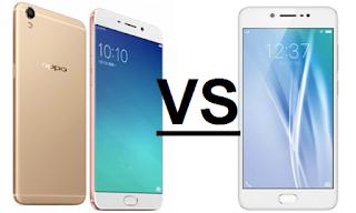 Pilih mana antara Oppo F1s atau Vivo V5