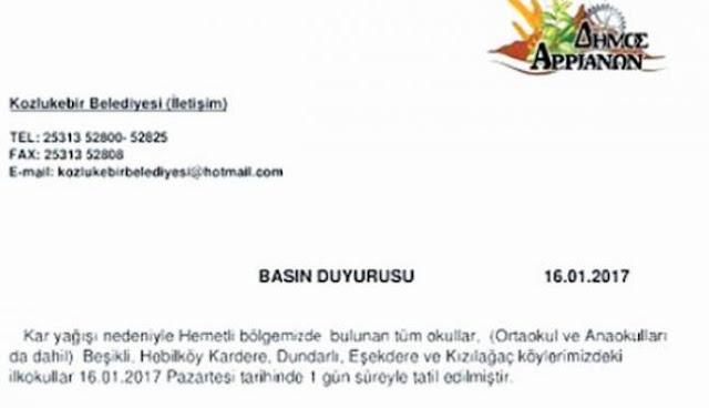 Πρόκληση! Δημόσιο έγγραφο στα τουρκικά στα Αρριανά της Θράκης