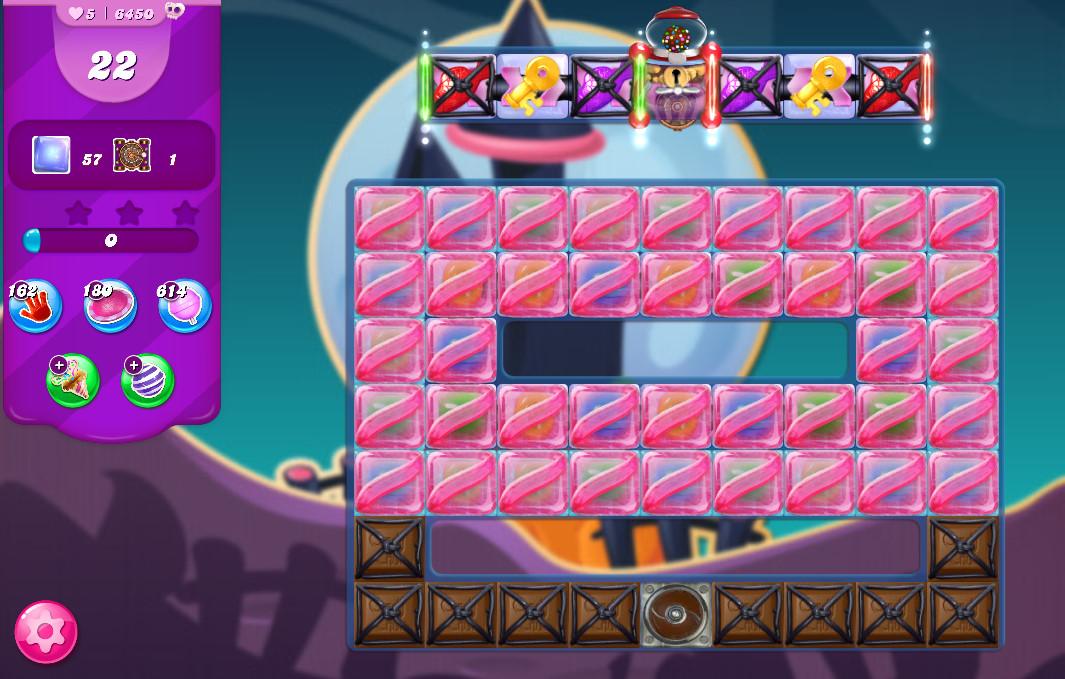 Candy Crush Saga level 6450