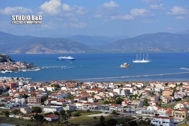 Υπερπολυτελή κρουαζερόπλοια στο Ναύπλιο