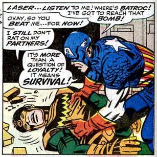 Kirby Captain America 105