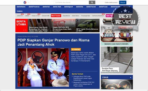 Daftar Blog dan Situs Web Berita Terbaik dan Terpopuler di Indonesia