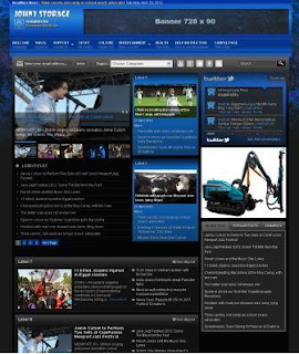Johny Storage Dark Blogger Template