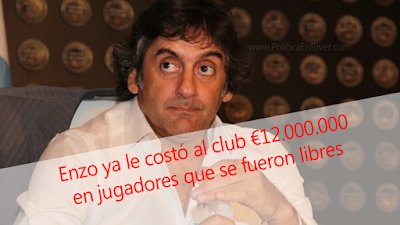 Enzo, Francescoli, Manager, River, River Plate, costo, 12 millones, D'Onofrio,