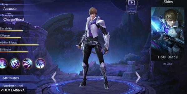 Gossen merupakan hero terbaru Mobile Legends yang sudah dirilis di Advance Server Hero Gossen Mobile Legends, Hero Terbaru 2018 Mirip Minato Namikaze