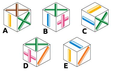 Cos E Il Test Dei Cubi E Ricostruzione Delle Figure Tridimensionali
