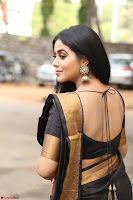 Poorna in Cute Backless Choli Saree Stunning Beauty at Avantika Movie platinum Disc Function ~  Exclusive 050.JPG