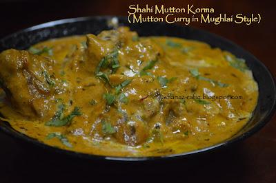 Mughlai Mutton