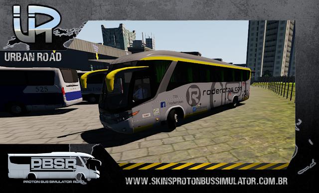 Skin Proton Bus Simulator Road - G7 1200 MB O-500 RS Viação RodeRotas