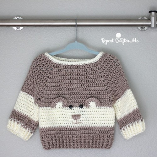 Crochet Character Sweater