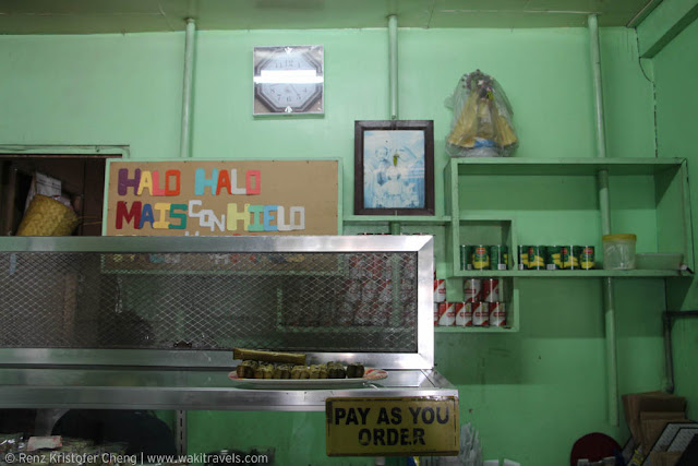 Interior of Salud Refreshment in Quezon Province