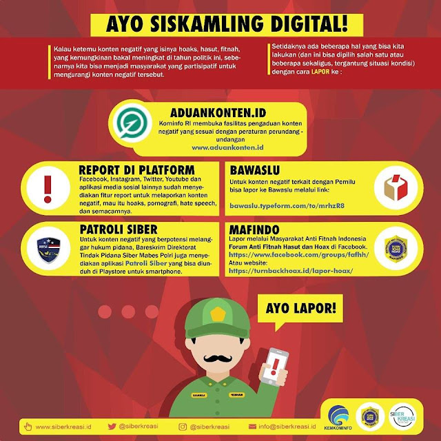 Ayo Siskamling Digital !