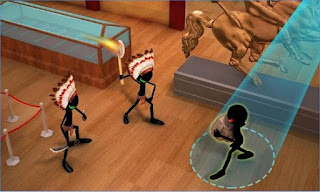Game Stickman Museum Robbery Escape App